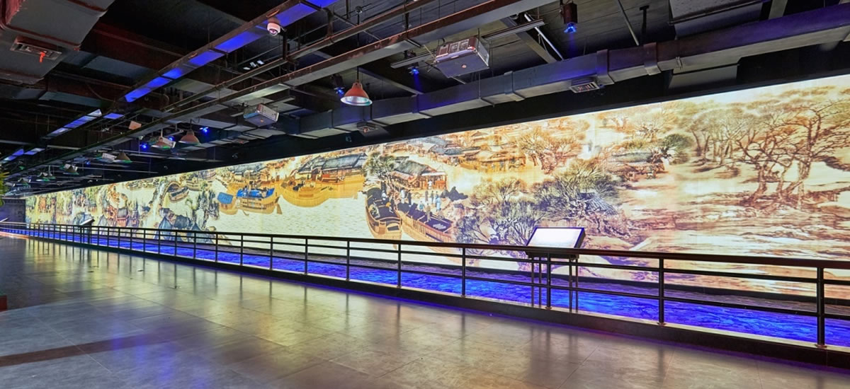 杭州宋城主题乐园《清明上河图》