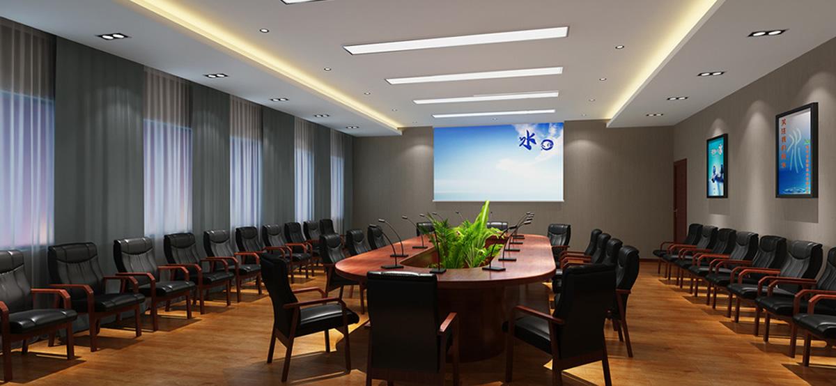 优派PJD7822HDL投影机40平米会议室案例